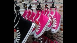 """Foto de una lectora de BBC Mundo por el tema """"rosadas"""""""