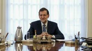 Mariano Rajoy, presidente de España con el Partido Popular