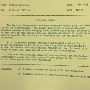 Documento Archvo Nacional