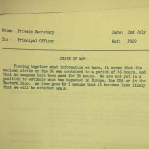 Documento del Archivo Nacional