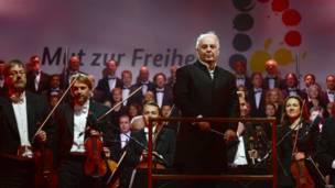 El director de orquesta y pianista Daniel Barenboim.