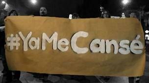 Hashtag Yamecanse en Twitter