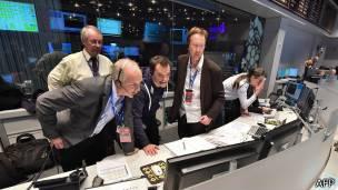 Centro de control de ESA