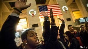 Protestas en NY