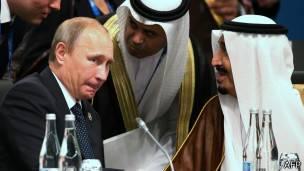 Putin habla con representantes de Arabia saudita