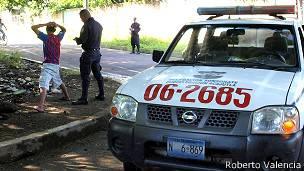 Mara Salvatrucha policía