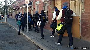 Estudiantes en Ciudad Juárez, Chihuahua
