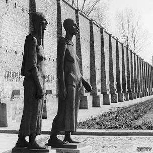 Estátuas em Ravensbrück | Foto: Getty