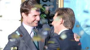 Tom Cruise y David Miscavige