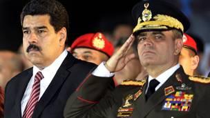 Maduro y Padrino