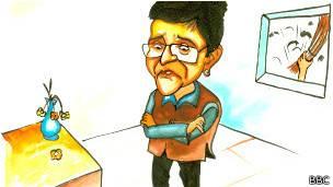 किरण बेदी कार्टून