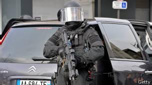 Policia anti terrorismo
