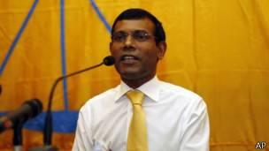 """馬爾代夫前總統""""涉嫌恐怖""""被逮捕"""