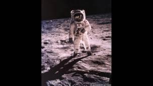 Buzz Aldrin. Fotografía de Neil Armstrong.