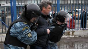 Борис Немцов: кадры из жизни - BBC Russian