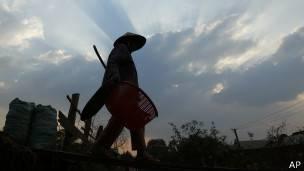 Trabajador Camboya
