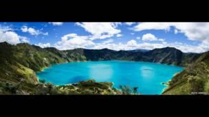 La Laguna de Quilotoa por Ruth Jiménez