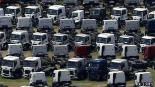 Producción de camiones Ford en Brasil