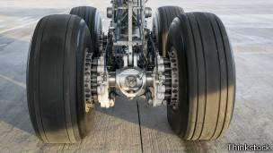 rueda de avion