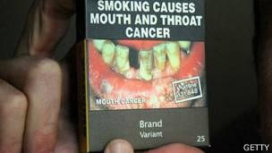 Cigarrillos sin logos