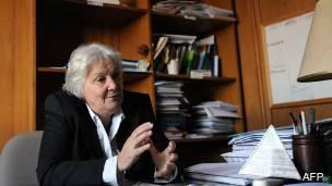 Senadora uruguaya, Lucía Topolansky.