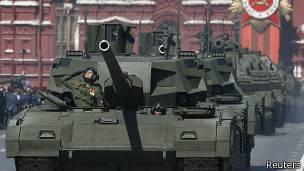 Tanques Armata T-14