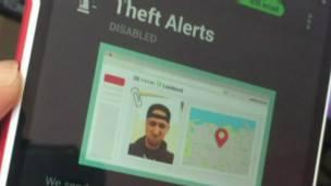 La aplicación que te permite tomar una foto de posibles ladrones