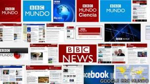 Captura de pantalla de una búsqueda de imágenes de BBC Mundo  en Google