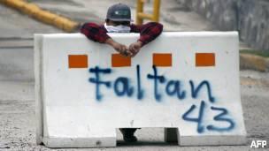 Protesta contra las elecciones en Guerrero