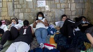 venezuela, estudiantes, huelga hambre