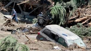 Inundación en Tiflis, Georgia