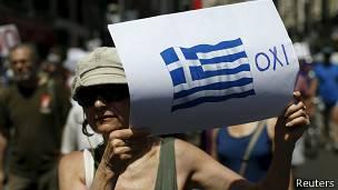 Aviso en Grecia