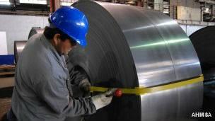 Empresa de acero en México