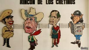 Caricaturas presidentes