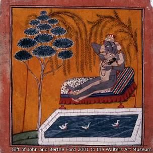 Ilustración del Kama sutra