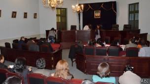 Audiencia cauterar del acusado de feminicidio