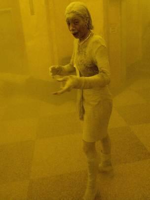 La foto emblemática de la dama del polvo