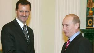Al Assad, Putin
