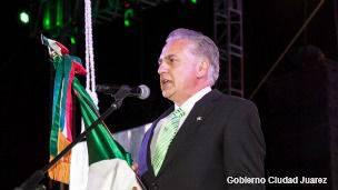 Alcalde de Ciudad Juárez, Enrique Serrano.