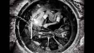 العمل تحت الأرض لبلال حسين رنا