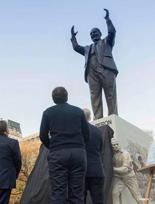 Estatua de Perón