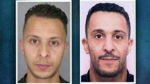 Salah (izq.) y Brahim Abdeslam