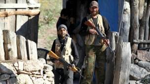 Milicianos turcomanos