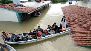 Inundación en México