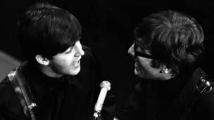 John Lenon y Paul McCartney