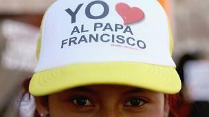 Seguidora del papa Francisco en México