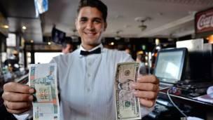 Peso convertible y dólar