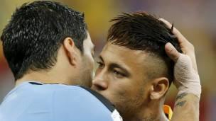Suárez y Neymar
