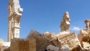 Muchos monumentos valiosos fueron destruidos por Estado Islámico