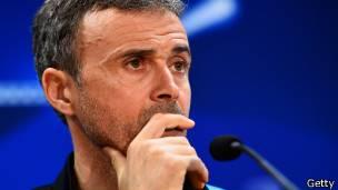 Luis Enrique, director técnico de Barcelona FC